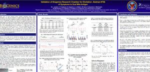 Validation of Biogenics Research Chamber for Elicitation Abstract #766 of Symptoms to Dust Mite Antigen